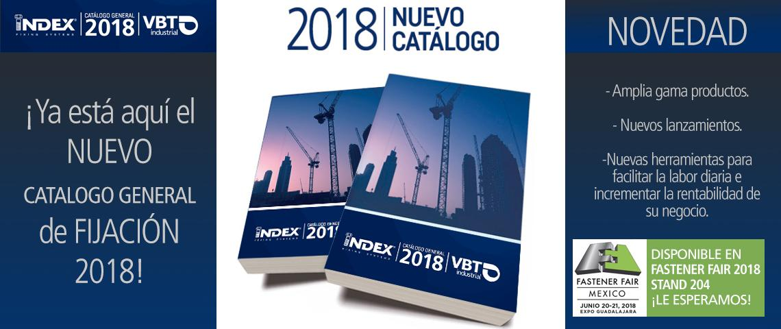 VBT Launches New Catalogs 2018 by INDEX Fixing Systems