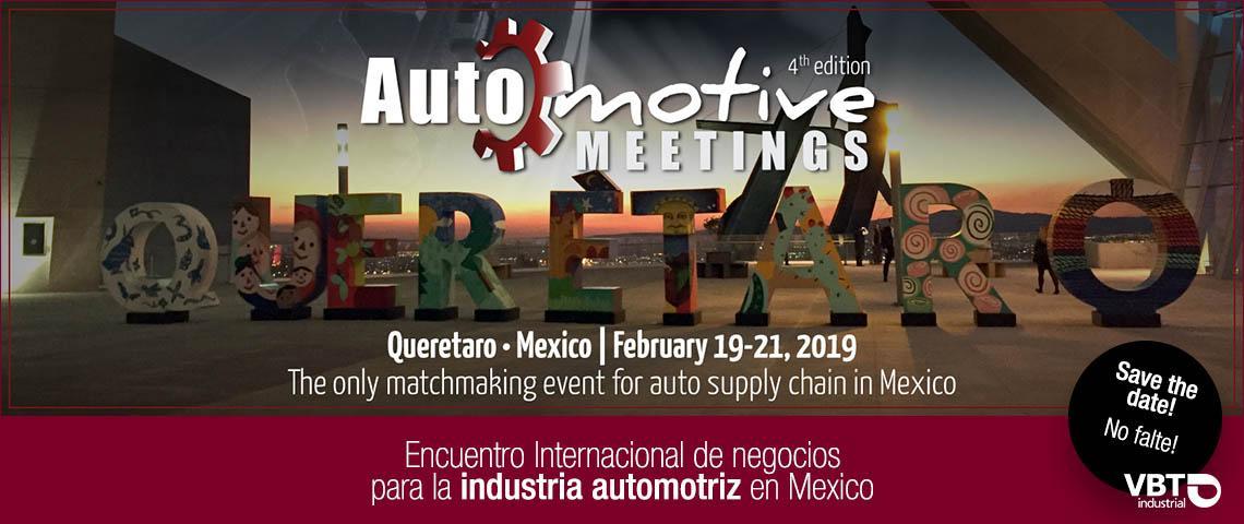 Visitenos en Automotive meetings Queretaro, stand 248 – 249