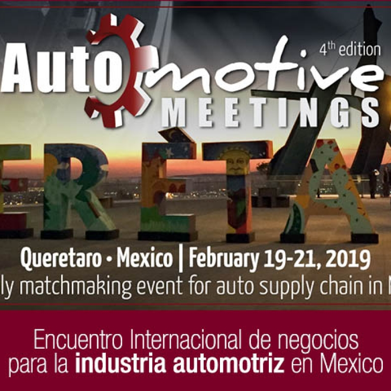 Visitenos en Automotive meetings Queretaro, stand 248 – 249