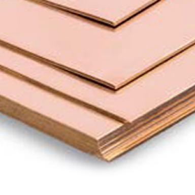 lamina de cobre aleado