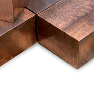 piezas forjadas de cobre aleado